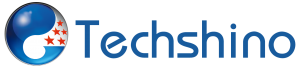 Techshino Logo with White background